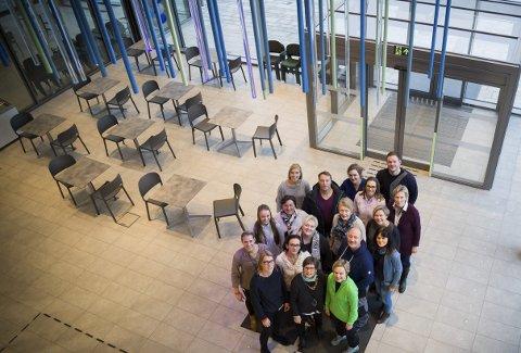 FELLESSKAP: Det nye helsehuset i Røyken rommer mange ulike tilbud. Her skal avdeling for helse, aktivitet og mestring i Røyken, kommunal fysioterapi og ergoterapi, kreftkoordinator, demenskoordinator, forebyggende team, hverdagsrehabilitering og frisklivssentralen ha sin base og fellesskap med bad og treningssenter.