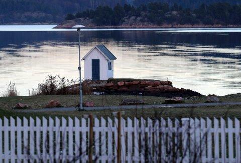 KULTURMINNE: Badehuset på Sætre gård er ett av mange kulturminner i Hurum. Nå er kommunen rangert etter hvor flink den er til å ta vare på dette og andre kulturminner.