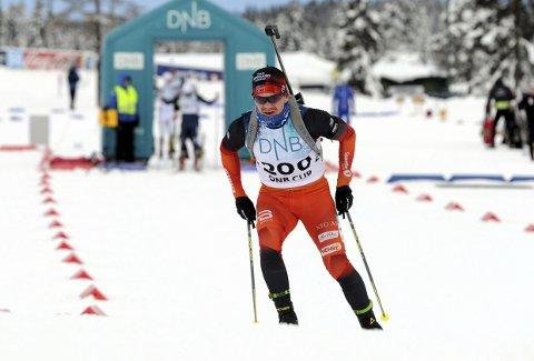 TILBAKE: Martin Lindland gikk fort og gjorde det bra i de to norgescuprennene på Lygna i helga.