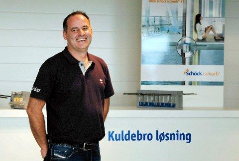 BETYDELIG AKTØR: John-Otto Lippert har siden 1994 bygget opp selskapet HauCon til å bli en betydelig aktør i byggebransjen.