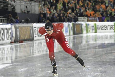 NM-KLAR: Sofie Karoline Haugen (22) fra Sandefjord har flere NM-medaljer på sin merittliste. I helgen skal hun kjempe om nye medaljer under NM i enkeltdistanser i Stavanger.