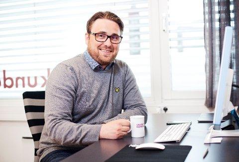 DAGLIG LEDER: Øystein Møller har lang erfaring fra B2B (business to business), og var i flere år selger og produktsjef i IT-bransjen. De siste månedene har han vært daglig leder for Ukjent Kunde AS.