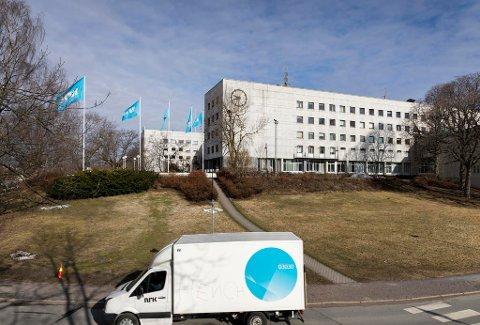 Norsk Rikskringkasting NRK på Marienlyst. (Illustrasjonsfoto)