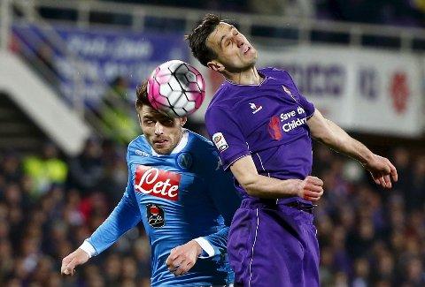 Vår oddstipper tror at Fiorentina og Nikola Kalinic taper mot Roma fredag kveld.