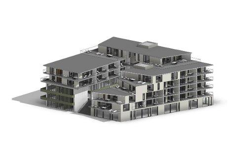Slik har Arkitekthuset Stav sett for seg at den nye Solagården skal bli. Dagens bygg blir innlemmet i det nye prosjektet, som for øvrig betyr at scenen må finne seg en ny plass å stå.