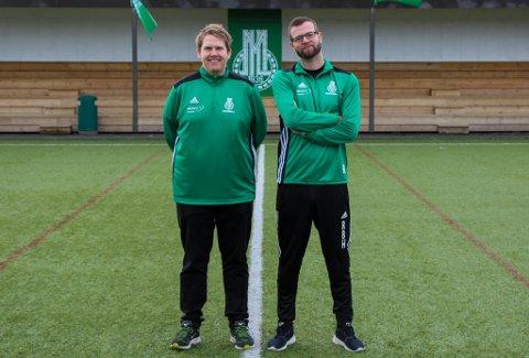 LEDERE: Oddbjørn Mihle Strand og Ronny Bruun Hansen er nyansatte i MIL.