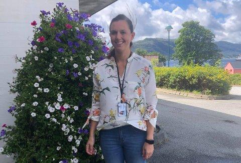 NY JOBB: Kathrine Sveinsvoll Dagestad begynner i ny jobb som leiar for demensavdelinga på Jonsokberget på Jørpeland i haust.