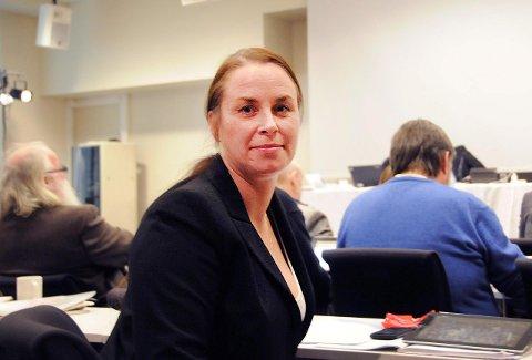 GIR SEG: Leder av Fremskrittspartiet i Telemark, Gry-Anette Rekanes Amundsen, har gitt beskjed om at hun gir seg som fylkespartiets leder på årsmøtet som skal arrangeres våren 2016. Foto: Lars Løkkebø