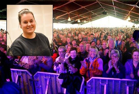 VENTER PÅ AVKLARING: Mari Beate Sannes sier at bluesfestivalen jobber kontinuerlig med rekruttering, og de må snart ta stilling til hvor mange frivillige de trenger til festivalen i august. Nå ønsker hun en avklaring rundt regelverket som kan slå negativt ut for arrangører og frivillige.