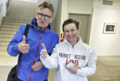 Mads Gilbert og Anna Owczarz kjemper sammen for lokalsykehusene. 12. august er det nasjonal aksjon i Oslo.
