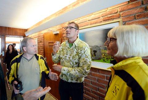 Ralph Herter og MDG vil at Tron Kjønnø og Ann-Mari Hammer og friidretten skal vente.