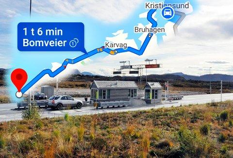 Google Maps er den mest brukte karttjenesten i verden. Fram til denne uka lå det fortsatt inne en advarsel om bomvei ved Atlanterhavstunnelen dersom man valgte en reiserute for eksempel mellom Kristiansund og Bud. Tunnelen ble som kjent gratis å kjøre fra 1. juli 2020.