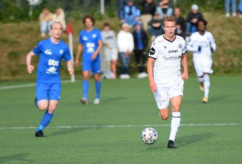 Jesper Isaksen kom inn fra benken og scoret da KBK vant mot Tiller søndag.