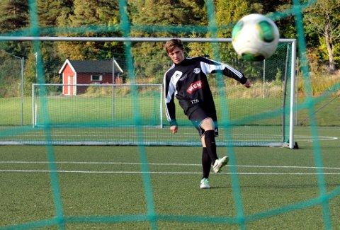 PÅ HJEMMEBANE: Tobias Gran i aksjon i Bergsåsen før han dro til Rosenborg for to og et halvt år siden.