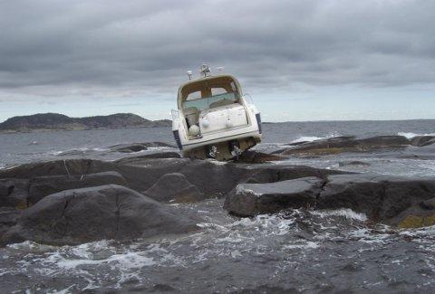 OOOPS: Gang på gang gikk det galt for båtførere i Vestfold i sommer.