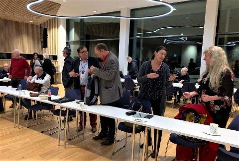 FØRSTE MØTE: Politikerne hadde sitt første møte i OSG etter valget.