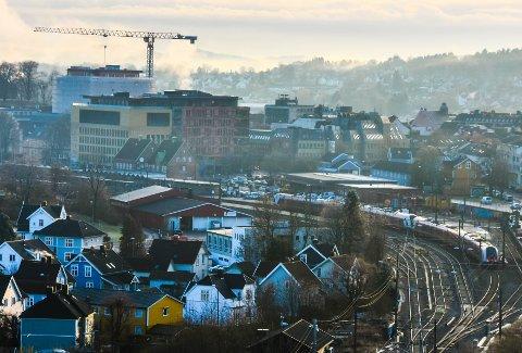 STØVSUGD: Tønsberg sentrum er støvsugd for eneboliger. Selv i randsonen er det så godt som umulig å oppdrive annet enn leiligheter, som det til gjengjeld er mange av til salgs.