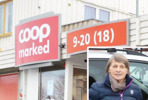 SKUFFET: Kristin Ringerud og andre på Bøverbru er skuffet etter det ble klart at Coop skal bygge på Reinsvoll. ARKIV