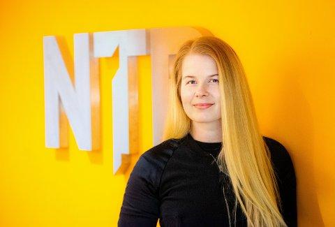 NTB Partner: Merethe Hommelsgård har etablert et eget firma og jobber som frilanser. For tiden er hun innleid av NTB Partner, som er en avdeling i velkjente Norsk Telegrambyrå. Foto: Thomas Brun, NTB.