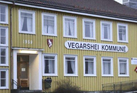 Vegårshei kommunehus: I 2019 avdekket Østre Agder Brannvesen avvik på kommunehuset i Vegårshei.