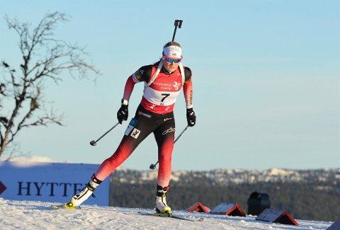 Marit Øygard ble ikke tatt ut til junior-VM. Men vartet opp med seier i Vingromrennet i helgen. Arkivfoto:Svein Halvor Moe