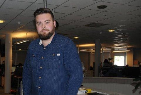 Kim Daniel Vorpvik er en av mange ved kundesenteret på Fagernes som nå søker etter ny jobb.