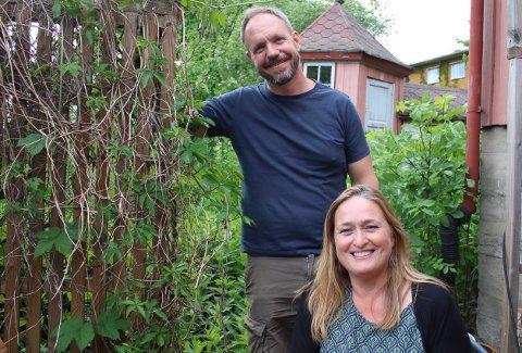 Eierne av Hølen Kafé, Gabrielle Tillson og Marius Flatby, håper de resterende arbeidene med broen ikke vil forårsake mye støy.