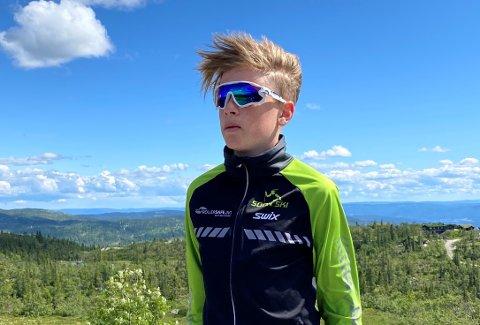 I helgen skal Jacob Egeberg Holm (13) fra Son representere Akershus friidrettskrets under Lerøy-lekene på Rjukan.