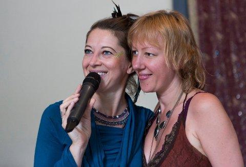 EUROPAS STØRSTE: Marthe Alva Dille skaper sammen med venninna Hajnalka Makk Europas største alternative festival for kvinner.