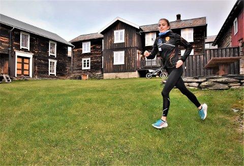 IMPONERER: Ekspertene er full av lovord om løpstalentet Ingeborg Østgård før helgens NM i friidrett.