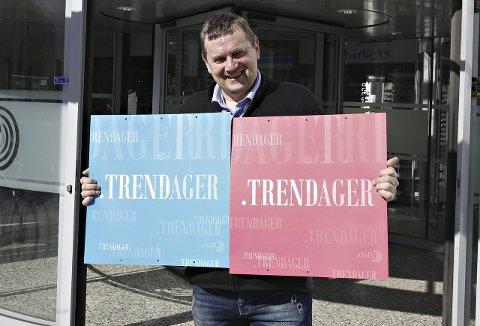 Ønsker velkommen: Senterleder Bergsvein Brøske ved Amfi Sunndal ønsker alle velkommen til tre dager med trender og underholdning.