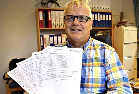 Kirkevalget 2015: – Det skal velges nye sokneråd og det skal velges leke medlemmer til Møre bispedømmeråd og Kirkemøtet, sier kirkeverge i Sunndal, Stig R. Andreassen.