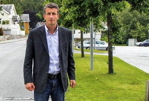 Peder H. Aasprang, 1. kandidat for Tingvoll Sp