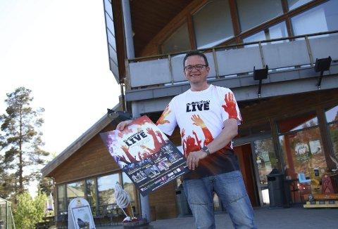 FLYTTER FESTIVALEN: Det blir Gjerstad Live i 2020, men den flyttes fra Brokelandsheia til Torbjørnshall ved Sundebru. Det opplyser Rune Hagestrand (bildet) lørdag.