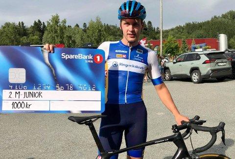 PALLPLASS: Magnus Sørbø tok sin beste plassering i norgescupen med andreplassen i Trøndelag søndag.