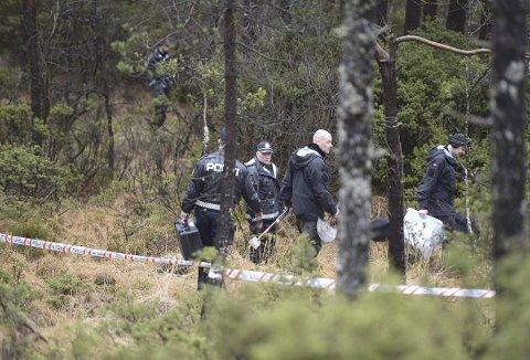 Søndag 24. januar i år blei masfjordingen John Arve Breivik funnen død i terrenget her på Breistein i Åsane. Framleis er saka eit mysterium. Arkivfoto: Skjalg Ekeland, BA