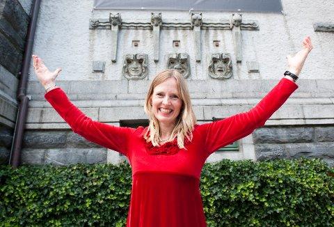 Agnete Haaland er første kvinnelege teatersjef på DNS, og fekk stillinga i 2010.