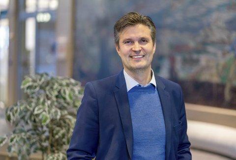 Pål Martin Arntzen, leder for DNB Eiendom Nybygg i Bodø, sier boligprisøkningen i august var forventet.