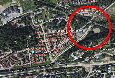 En ung jente skal ha blitt forsøkt lokket inn i bilen til en mørkhåret mann, like i nærheten av jernbanebrua i Grønnåsenområdet.
