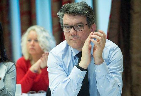 Tidligere fylkesordfører i Hordaland Tom-Christer Nilsen (H).