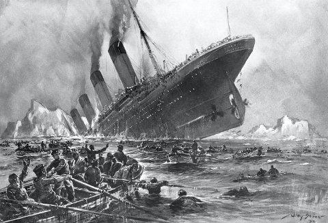 Mange har i ettertid prøvd å skildre de scenene som utspant seg, da gigantskipet satte baugen ned i dypet – og folk kjempet for livet i det iskalde vannet.