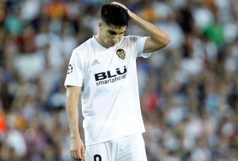 Vi tror at Valencia og Carlos Soler kan gå på en smell i den spanske cupen i kveld. (AP Photo/Alberto Saiz)