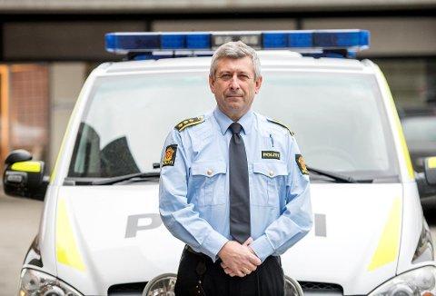 Lensmann Kjell Idar Vangberg forteller at de mange tyveriene har flere likhetstrekk.