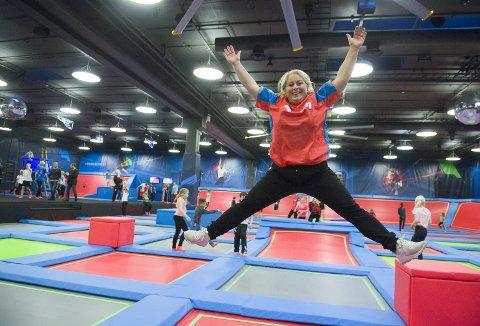 – Vi føler det blir en heftig utvidelse, sier Christine Grieg-Lie om at Rush utvider på Kokstad. Per i dag sysselsetter trampolineparken rundt 60 medarbeidere.