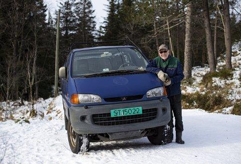 På grove vinterdekk har den bunnsolide L400'en tatt seg frem sammen med Hans Jacob Engeberg på alle tenkelige turveier på Fløyen. Nå er det slutt. Foto: EMIL   WEATHERHEAD  BREISTEIN