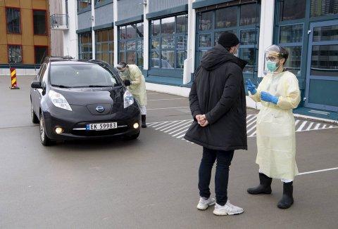 Det ble testet over 600 personer ved Bergen legevakt i forrige uke. Kun tre av testene var positive. Bildet er tatt i mars.