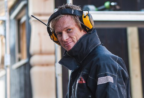 NOMINERT: Vidar Rognmo Hansen i Brødrene Hansen Bygg AS er nominert til Norges hyggeligste håndverker.