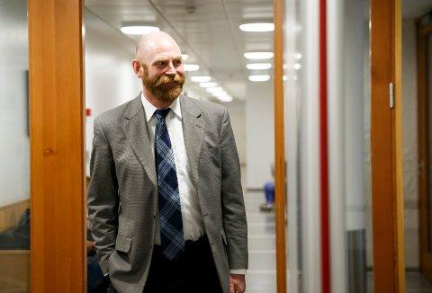 SKEIV RETT: Politisk nestleder i FRI og advokat Halvor Frihagen holder foredrag om skeiv rett i Drammen i forbindelse med Drammen Pride.