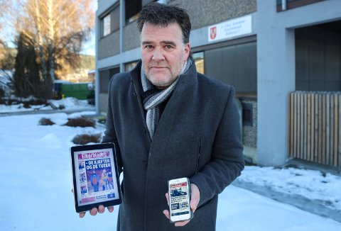 GRATISABONNEMENT: Stig Odenrud, ansvarlig redaktør i Eikerbladet, ønsker å stimulere til familieforøkelse i Eiker. Han lover derfor gratis abonnement til alle under 30 år som skal ha barn i 2019.