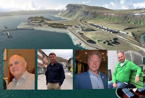 Finnmarksposten har stil de fire partilederne i Nordkapp spørsmål om ilandføringen på Veidnes.